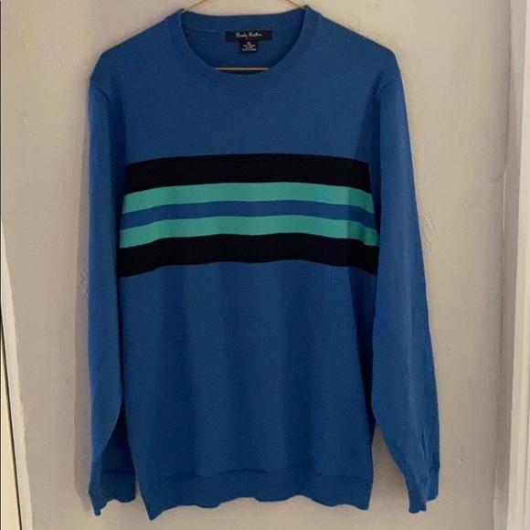 Brooks Brothers Boy's CrewNeck Blue Sweater - XL